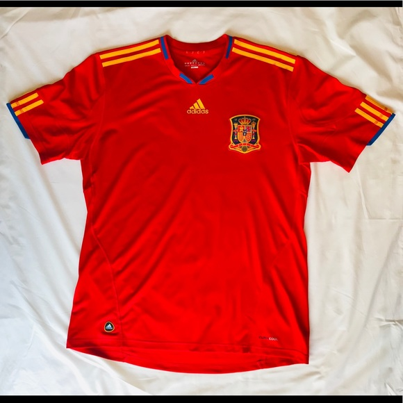 responsabilidad acero Absay  adidas Shirts   20 Adidas Spain National Team Jersey   Poshmark